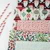 Basic Grey for Moda, Kringle Claus in FAT QUARTERS 5 Total