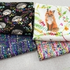 Betsy Olmsted for Windham Fabrics, Fox Wood Canvas, Hedgehog Black