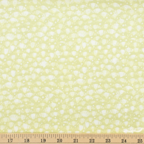 Betsy Olmsted for Windham Fabrics, Fox Wood, Leaf Celadon