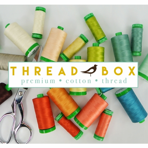 Birch Organic Fabrics, Birch Thread Boxes, Small