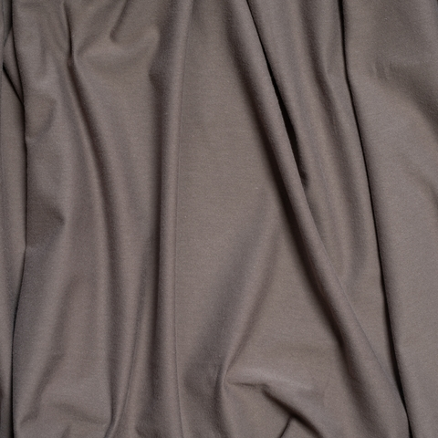 Birch Organic Fabrics, Jersey Knit, Solid Charcoal