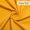 Birch Organic Fabrics, Jersey Knit, Solid Honey