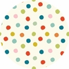 Birch Organic Fabrics, Mod Basics 3, DOUBLE GAUZE, Pop Dots Multi