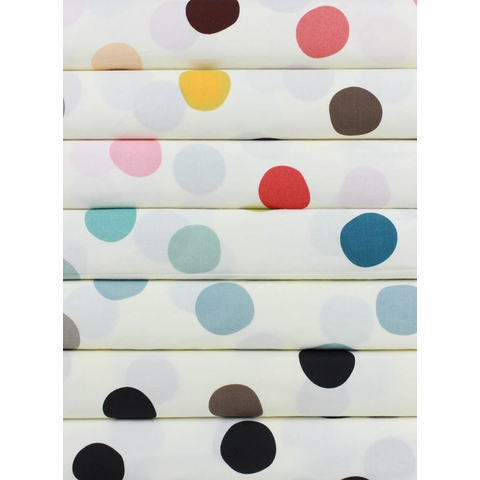 Birch Organic Fabrics, Mod Basics 3, Pop Dots 7 Total