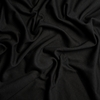 Birch Organic Fabrics, Mod Basics Knit, Solid Jet Black