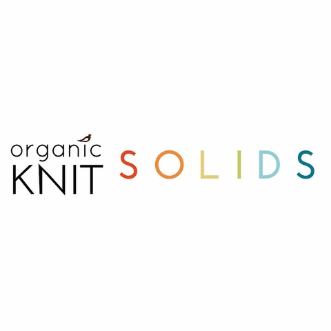 Birch Organic Fabrics, Mod Basics Interlock Knit, Solid Tomato