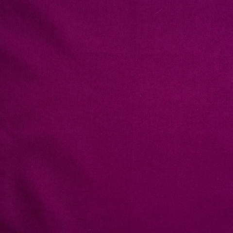 Birch Organic Fabrics, Mod Basics, Solid Dark Plum Fat Quarter