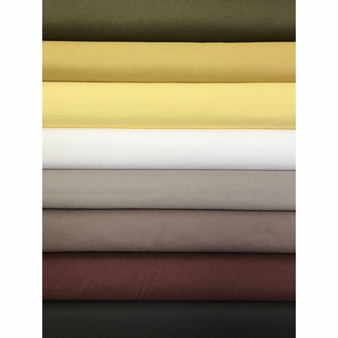 Birch Organic Fabrics, Mod Basics, Solid Grounded in FAT QUARTERS 8 Total