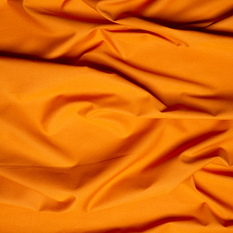 Birch Organic Fabrics, Mod Basics, Solid Orange