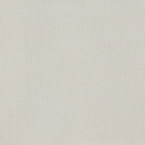 Birch Organic Fabrics, RIBBED KNIT, Cream