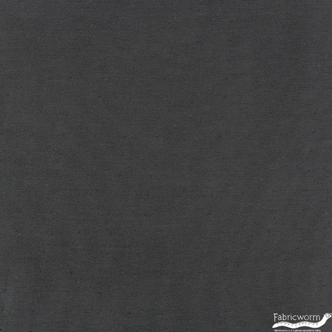 Birch Organic Fabrics, Solid DOUBLE GAUZE, Black