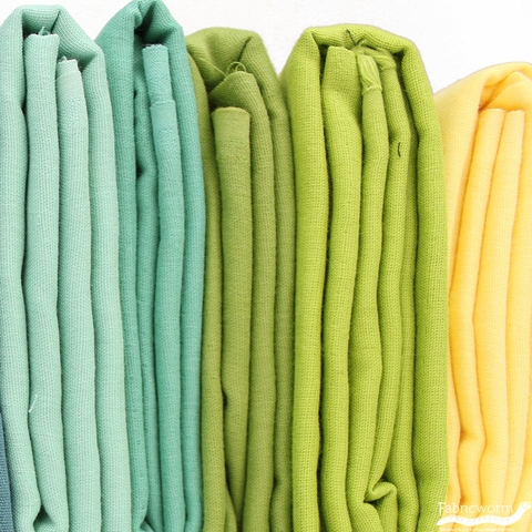 Birch Organic Fabrics, Solid DOUBLE GAUZE, Grass