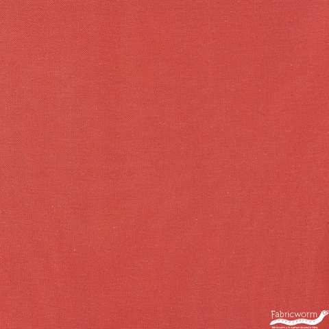 Birch Organic Fabrics, Solid DOUBLE GAUZE, Ruby
