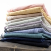 Birch Organic Fabrics, Yarn Dyed and Solid Linen in Wide Width FAT QUARTERS 11 Total
