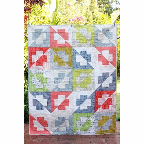 Bonjour Quilts, Sewing Pattern, The Plus Side