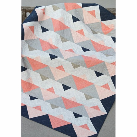 Bonjour Quilts, Sewing Pattern, Triangle Twist