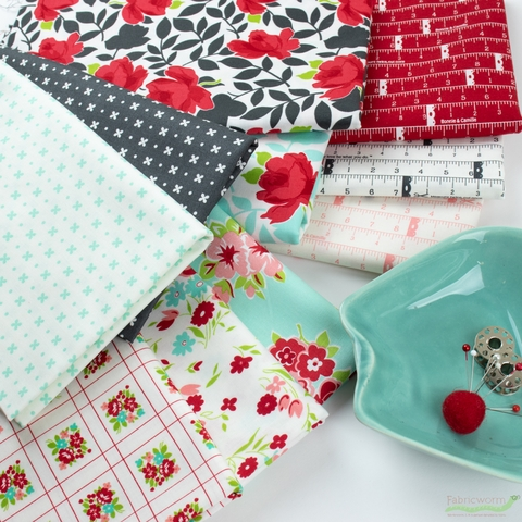 Bonnie & Camille for Moda, Little Snippets in HALF YARDS 10 Total