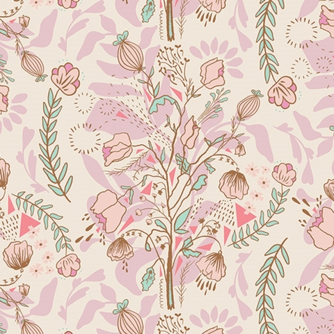 Bonnie Christine for Art Gallery Fabrics, Lambkin, Pretty Twiggy