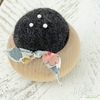 Brooklyn Haberdashery, Turned Wood Pin Cushion