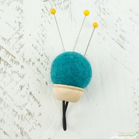Brooklyn Haberdashery, Wool Pin Cushion Ring
