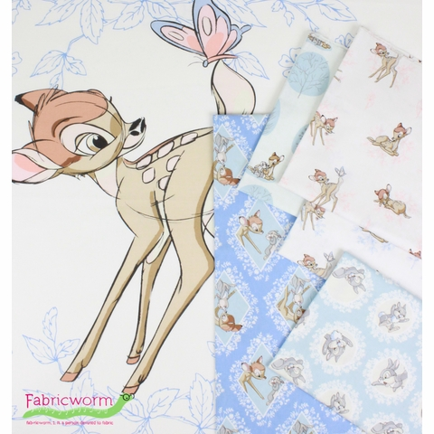 "Camelot Fabrics, Bambi, Butterfly (34"" Panel)"