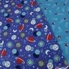 Camelot Fabrics, Out of This World GLOW in the Dark, Shooting Stars Sky Blue