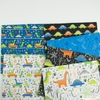 Camelot Fabrics, Roarsome, Dinosaurs on the Go White