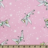 Camelot Fabrics, Tinker Bell, Pixie Dust Pink