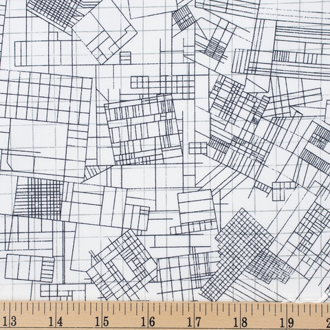 Carolyn Friedlander for Robert Kaufman, Collection CF, Blueprint Pepper Fat Quarter