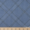 Carolyn Friedlander for Robert Kaufman, Collection CF, Diamond Grid Navy Metallic Fat Quarter