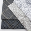 Carolyn Friedlander for Robert Kaufman, Collection CF, Diamond Grid Pewter Metallic