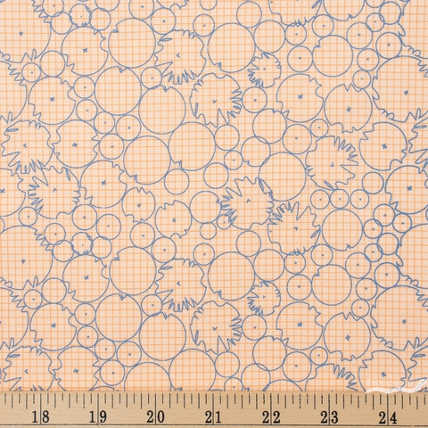 Carolyn Friedlander for Robert Kaufman, Collection CF, Foliage Cantaloupe Fat Quarter
