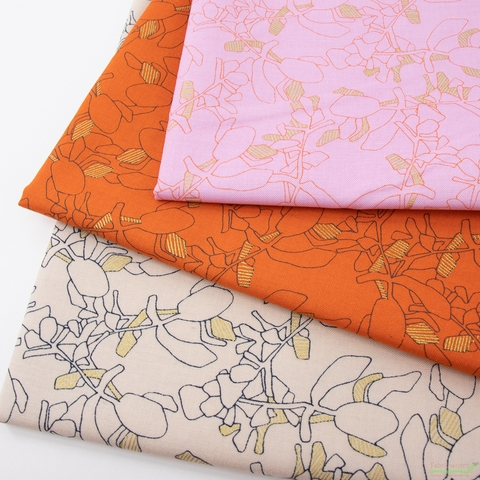 Carolyn Friedlander for Robert Kaufman, Collection CF, Petals in HALF YARDS 10 Total