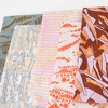 Carolyn Friedlander for Robert Kaufman, Jetty, Shadows Spice in FAT QUARTERS 5 Total
