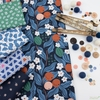 Cathy Nordstrom for FIGO, A Life in Pattern, Blue in HALF YARDS 5 Total
