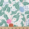 Cathy Nordstrom for FIGO, A Life in Pattern, Fruit Floral Gray