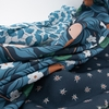 Cathy Nordstrom for FIGO, A Life in Pattern Rayon, Fruit Floral Navy