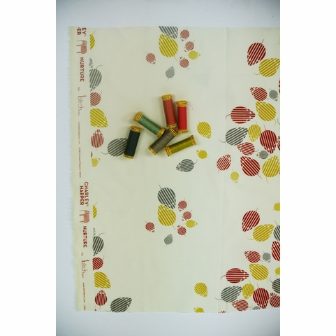 Charley Harper for Birch Fabrics Organic, Nurture, Mice Invasion