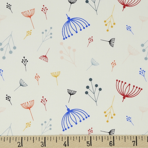 Charley Harper for Birch Organic Fabrics, Best of Charley Harper, Twigs Multi