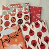Charley Harper for Birch Organic Fabrics, Best of Charley Harper, Twigs Tomato
