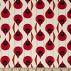 Charley Harper for Birch Organic Fabrics, Best Of, KNIT, Cardinal Stagger