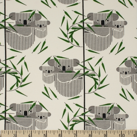 Charley Harper for Birch Organic Fabrics, Best Of, KNIT, Koala Koala