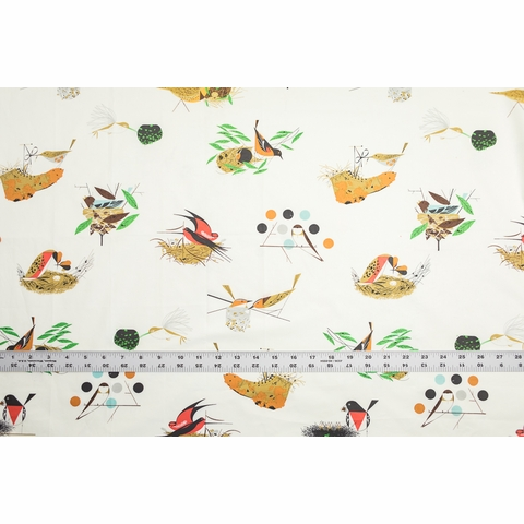 Charley Harper for Birch Organic Fabrics, Bird Architects, Architects Main