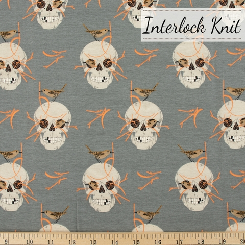 PREORDER NOW, Charley Harper for Birch Organic Fabrics, Charley Harper Interlock Knits, Wrented