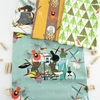 Charley Harper for Birch Organic Fabrics, Holidays 2020 Collection Bundle 8 Total