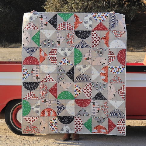 Charley Harper Pivot Quilt Kit by Modern Handcraft for Birch Organic Fabrics