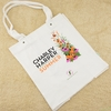 Charley Harper, Summer Wildflowers Sold at Fabricworm Tote Bag Cream