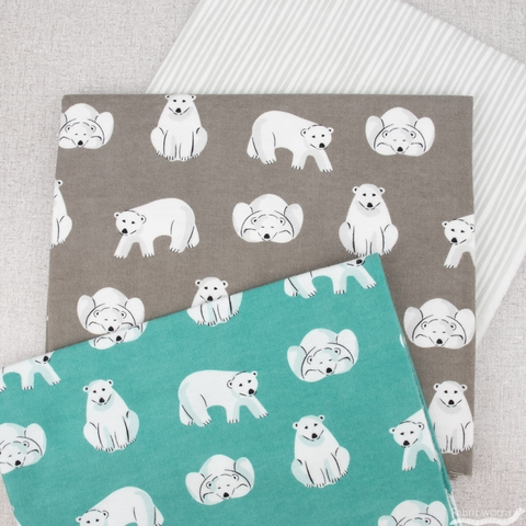Cloud9 Organic Fabrics, Northerly Flannel, Collection Bundle 6 Total