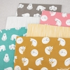Cloud9 Organic Fabrics, Northerly Flannel, Straws Gold