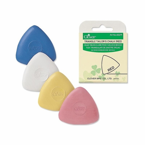 Clover, Triangle Tailor's Chalk White